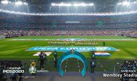 PES 2020 - L'aggiornamento gratuito UEFA EURO 2020 è ora disponibile
