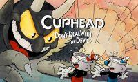 Cuphead - Ecco un filmato del gioco in bianco e nero su una TV CRT