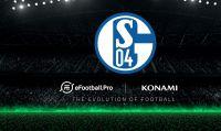 KONAMI annuncia la partecipazione dello Schalke 04 alla competizione eSport: eFootball.Pro