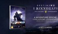 Ecco la Destiny 2: I Rinnegati - Collezione Leggendaria