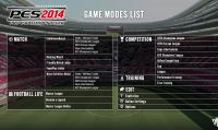 PES 2014: rivelate tutte le modalità di gioco