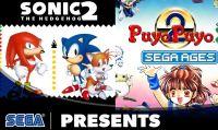 SEGA AGES: Sonic The Hedgehog 2 e Puyo Puyo 2 sono disponibili per Nintendo Switch