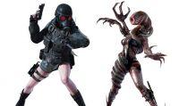 Resident Evil Revelations: Rachael Ooze e Lady Hunk
