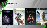 Microsoft svela i nuovi giochi del Game Pass per Xbox One e PC