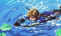 TLoZ: Breath of the Wild - Un glitch porta Link ''In Fondo al Mar''