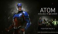 Atom è pronto a combattere su Injustice 2
