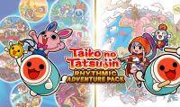 Taiko No Tatsujin: Rhytmic Adventure Pack sarà disponibile dal 3 dicembre 2020 per Nintendo Switch