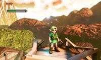 TLoZ: Ocarina of Time riprodotto tramite l'Unreal Engine 4