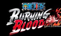 One Piece: Burning Blood è ora disponibile - Ecco il trailer di lancio