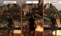 Dark Souls II: Scholar of the First Sin: video comparativo