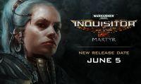 Posticipato al 5 giugno il lancio di Warhammer 40.000: Inquisitor - Martyr