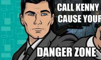 Rock Band 4 - Tutti nella 'Danger Zone' insieme ad Archer