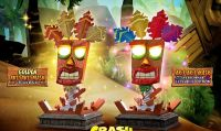 Annunciata l'action figure dedicata alla maschera Aku Aku di Crash Bandicoot