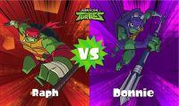Splatoon 2 - La finale dello Splatfest dedicato alle TMNT mette contro Raffaello e Donatello