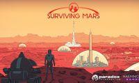 Paradox e Haemimont hanno iniziato il conto alla rovescia: tra sei settimane esce Surviving Mars