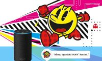 Bandai Namco annuncia Pac-Man Stories per Amazon Alexa