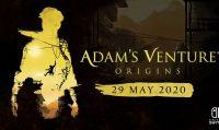Adam's Venture: Origins sarà disponibile dal 29 maggio