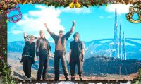 Final Fantasy XV -  Già disponibili l'update 1.03 e l'Holiday Pack