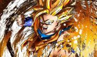 Dragon Ball FighterZ - Un ragazzo partecipa a un torneo giocando con la tastiera di Rock Band