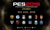È disponibile la demo di PES 2019