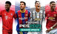 Svelata la copertina di eFootball PES 2021 Season Update