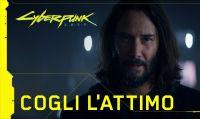 """Cyberpunk 2077 - Ecco il nuovo spot """"Cogli l'Attimo"""" con Keanu Reeves"""