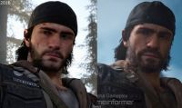 Days Gone - La build attuale a confronto con quella mostrata nel 2016