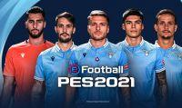 PES 2021 - Konami annuncia la partnership con la Lazio