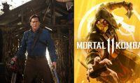 Mortal Kombat 11 - Bruce Campbell smentisce la presenza nel roster di Ash Williams di Evil Dead