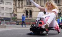 Play Expo Manchester e... Mario Kart 'reale'