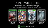 Microsoft presenta la line-up dei Games with Gold di febbraio