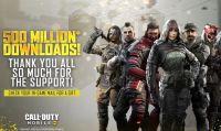 Call of Duty Mobile raggiunge i 500M di download