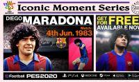 Konami celebra i 25 anni di PES con la serie 'Momenti Gloriosi' e un nuovo Data Pack