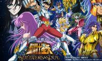 Pegasus e Sagitter si sfidano in Saint Seiya Soldiers' Soul
