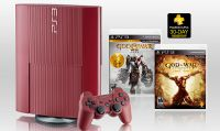 God of War: Ascension Legacy Bundle include PS3 Red Garnet