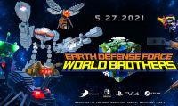 Earth Defense Force: World Brothers in arrivo il 27 maggio