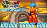 Dragon Ball Z: Extreme Butoden - Ecco come sbloccare Goku SSGSS
