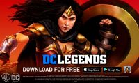 Wonder Woman si unisce agli eroi di DC Legends