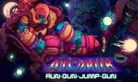 Il caos psichedelico di ATOMIK: RunGunJumpGun arriva su Nintendo Switch