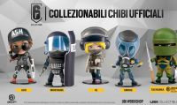 Ubisoft presenta cinque statuette a tema Rainbow Six