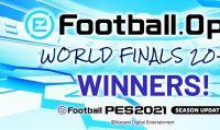 KONAMI annuncia i risultati delle eFootball.Open World Finals