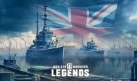 Sono arrivati i nuovi incrociatori su World of Warships: Legends