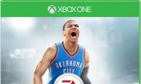 NBA Live 16 - Russell Westbrook in copertina
