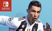 FIFA 19 si mostra su Nintendo Switch