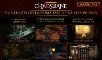 La prima fase della Closed Beta di Warhammer: Chaosbane è disponibile