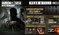 Il Season Pass dell'Anno 4 di Tom Clancy's Rainbow Six Siege è disponibile da oggi