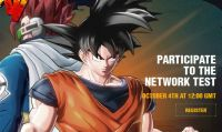 Nuovo sito e Network Test per Dragon Ball Xenoverse