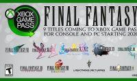 I titoli classici della serie Final Fantasy arrivano su Xbox Game Pass da inizio 2020