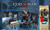 God of War - Ecco la Stone Mason Edition