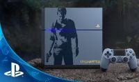 Uncharted 4 - Sony svela la PS4 Limited a tema